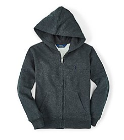 Ralph Lauren Childrenswear Boys' 2T-20 Long Sleeve Full-Zip Hoodie