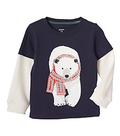 Carter's® Baby Boys' 12-24 Month Polar Bear Tee