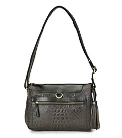 GAL Leather Crocodile Crossbody