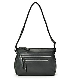GAL Leather Zip Crossbody