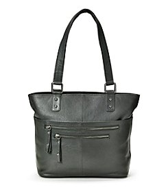 GAL Leather Zip Tote