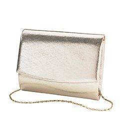 La Regale® Metallic Flap Clutch