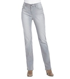 Relativity® Super Soft Straight Leg Jeans