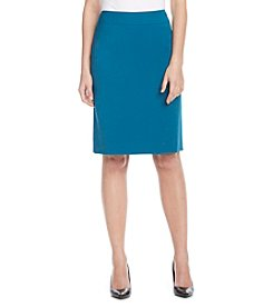 Tahari ASL® Solid Ponte Pencil Skirt