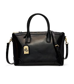 Lauren Ralph Lauren® Tate Patent Leather Satchel