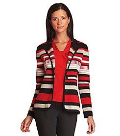 Calvin Klein Stripe Print Jacket