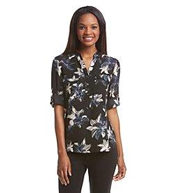 Ivanka Trump® Floral Print Blouse