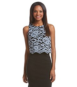 Ivanka Trump® Lace Tank Top