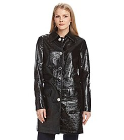 MICHAEL Michael Kors® Faux Leather Mackintosh