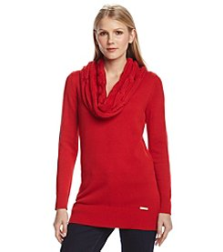 MICHAEL Michael Kors® Cowlneck Cable Sweater
