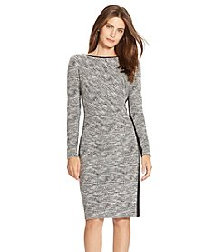 Lauren Ralph Lauren® Two-Toned Knit Dress