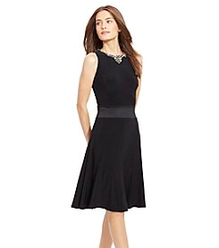 Lauren Ralph Lauren® Sleeveless Jeweled Dress