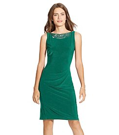 Lauren Ralph Lauren® Embellished Jersey Dress