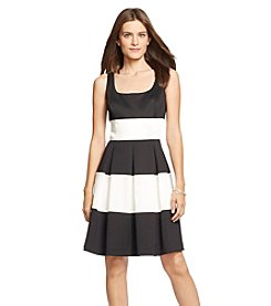 Lauren Ralph Lauren® Satin Combo Dress