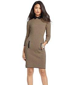 Lauren Ralph Lauren® Houndstooth Shirtdress
