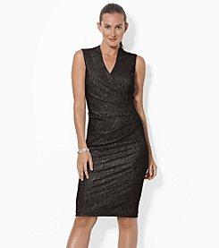 Lauren Ralph Lauren® Metallic Dress