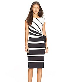 Lauren Ralph Lauren® Striped Jersey Dress
