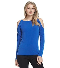 MICHAEL Michael Kors® Oval Link Cold Shoulder Top