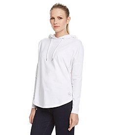MICHAEL Michael Kors® Elliptical Hem Hooded Top