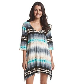 J. Valdi® Tie Dye Tunic Cover-Up