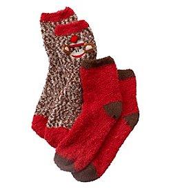 Legale® Cozy Monkey Slipper Socks