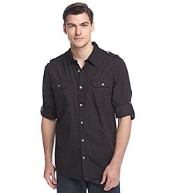 DKNY® Men's Star Print Woven Shirt