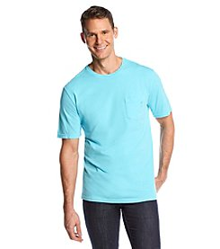 Paradise Collection® Men's Garment Dye Pocket Tee