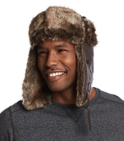 Ruff Hewn Men's Faux Leather Trapper Hat