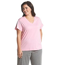 HUE® V-Neck Sleep Tee