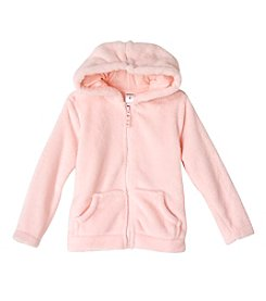 Carter's® Girls' 2T-6X Fuzzy Hooded Jacket