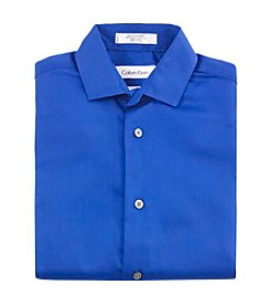 Calvin Klein Boys' 2T-7 Dark Blue Long Sleeve Shirt
