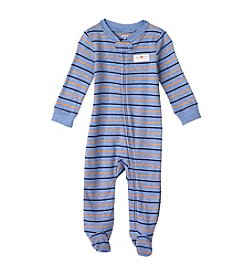 Carter's® Baby Boys Blue Orange Multi Stripe Footie