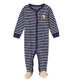 Carter's® Baby Boys Navy And White Stripe Monkey Footie