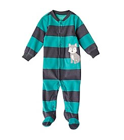 Carter's® Baby Boys Blue Husky Snap Footie