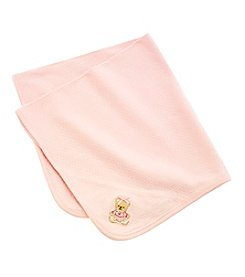Little Me® Baby Girls' Pink Sweet Bear Blanket