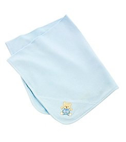 Little Me® Baby Boys Blue Cute Bear Blanket