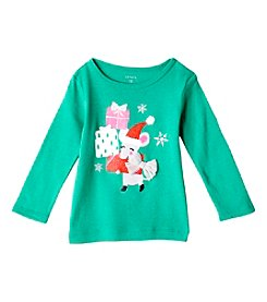 Carter's® Baby Girls' 12-24 Month Elf And Presents Tee