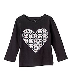 Carter's® Baby Girls' 12-24 Month Heart Tee