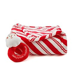 Cuddle Bear® Baby Candycane Stripe Blanket