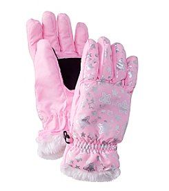 Mambo® Girls' Glitter Star Gloves