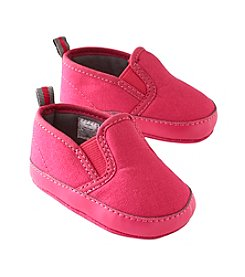 Cuddle Bear® Baby Girls' Canvas Slide Soft Sole Shoes