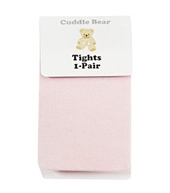 Cuddle Bear® Baby Girls' Cotton Spandex Single Tights