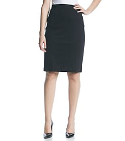 Nine West® Straight Ponte Skirt