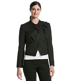 Nine West® Solid Twill Jacket