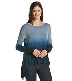 Oneworld® Long Sleeve Ombre Knit Top