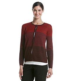 Anne Klein® Colorblock Sweater