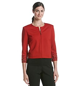 Anne Klein® Embellished Jacket