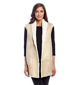 DKNY® Faux Fur Vest