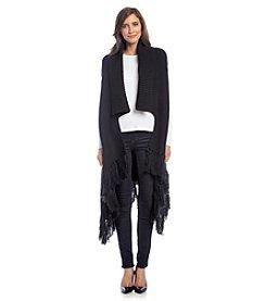 DKNY® Vest With Fringe