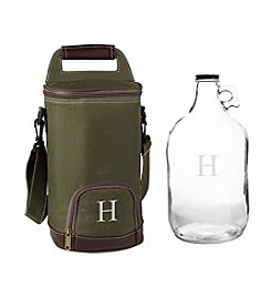 Cathy's Concepts Personalized Insulated Growler Cooler with 64-oz. Clear Growler